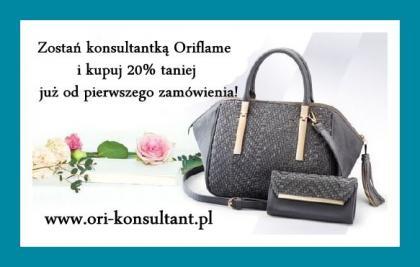 Konsultant firmy ORIFLAME-praca dodatkowa !