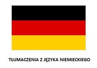 Tłumaczenia Niemiecki tłumaczenia tekstów