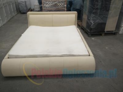 Łóżko tapicerowane podwójne