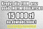 15 000 zł na OŚWIADCZENIE dla FIRM bez ZUS i US i OSÓB INDYWIDUALNYCH!
